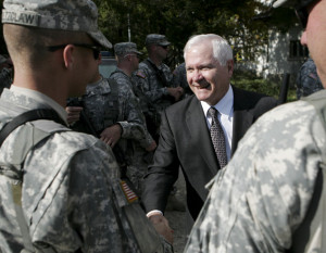 Robert M Gates Meets European Defense Ministers Robert M Gates
