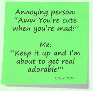 Annoying People Vs. Me