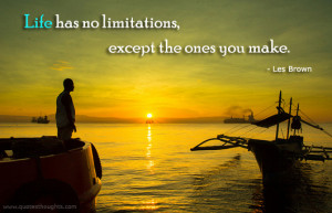 Motivational Quotes-Thoughts-Les Brown-Limitations-Life-Best Quotes
