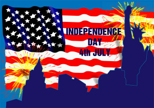 American Independence Day A4 Poster | Free EYFS & KS1 Resources