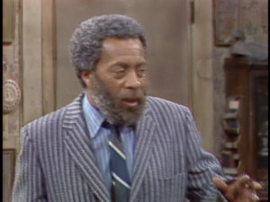 but you look like grady from sanford and son