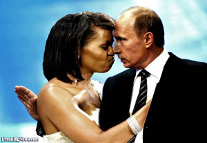 Vladimir Putin And Obama Funny Vladimir putin and michelle