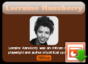 All Inevitably That Which Makes You Lonely Lorraine Hansberry