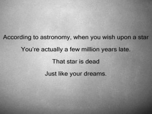 dead, dream, quote, star, text, wish