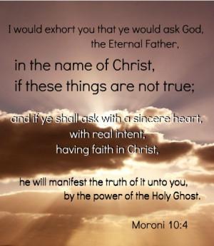 Book of Mormon Testimony