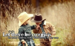 Let there be cowgirls