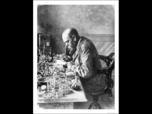 Robert Koch from 'The Illustrated London News ' 1897