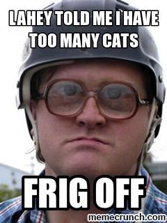 Generate a meme using Bubbles trailer park boys