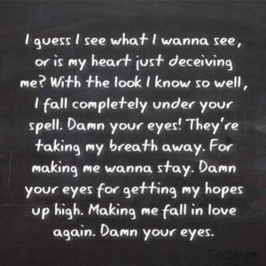 Alex clare - damn your eyes