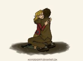 BOOK THIEF Liesel and Max by pebbled