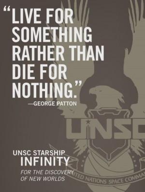 UNSC - George Patton Quote