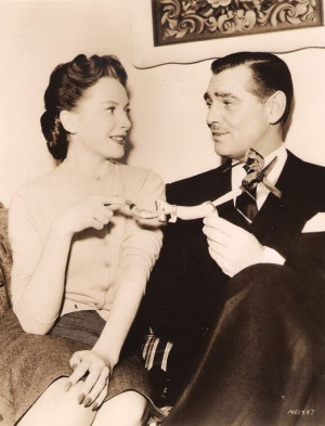 CLARK GABLE AND DEBORAH KERR