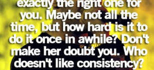 ... girl needs reassurance : Quote About Every Girl Needs Reassurance