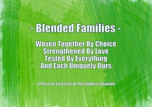 Blended Families ~ Each Uniquely Ours}