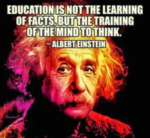 Albert Einstein - before and after.
