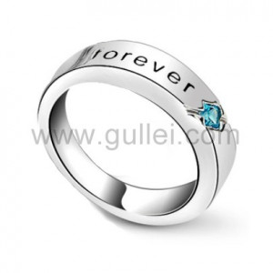 Promise Ring With Engraving Girlfriend