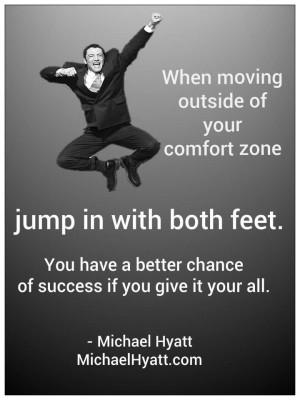 Comfort zone tactics ;))