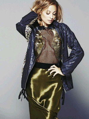 Snapshot: Nicole Richie For Marie Claire Mexico February 2014 | The ...