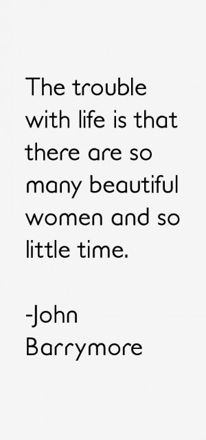 John Barrymore Quotes & Sayings