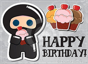 Happy Birthday, Dameshi!