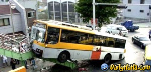 bike bus accident funny but amazing india indian