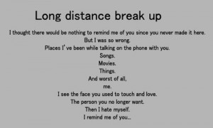 Call It A Long Distance Relationship!
