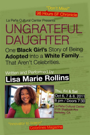 Ungrateful Daughter One Black Girl's Story of Being Adopted into a ...