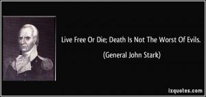 More General John Stark Quotes