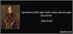 More Jane Grey Quotes