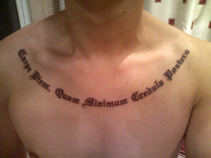 tattoo sayings and quotes