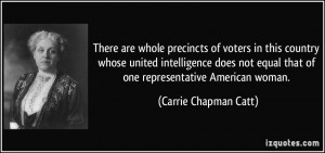 More Carrie Chapman Catt Quotes