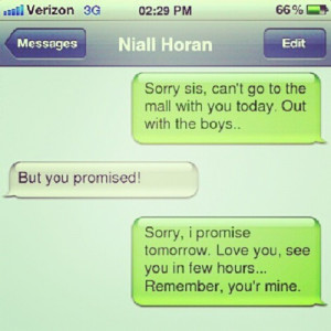 ... horan #lol #funny #iphone #sms #omg #adorble (Taken with Instagram