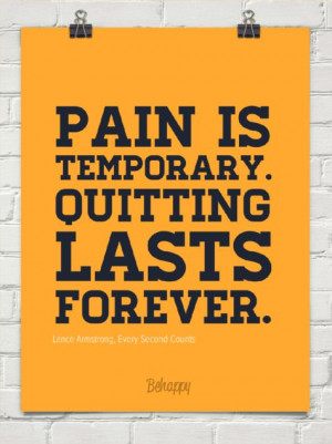 Pain Temporary Quitting