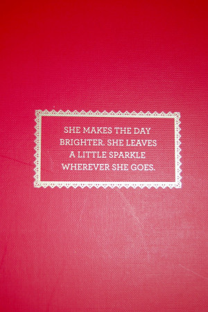 This is so fun too. Doesn't it remind you of Kate Spade?