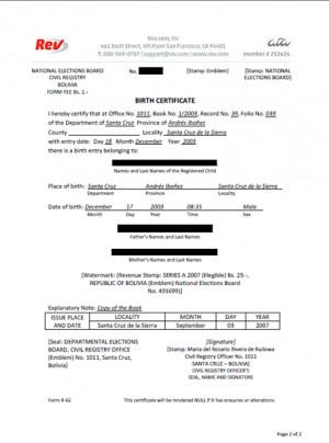 Translate Legal Document