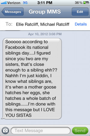 Quotes About Sibling Love Siblings know you love