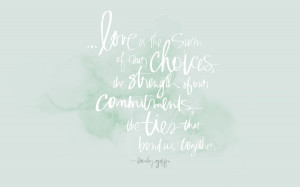 Love Quote Free Download By Julie Song Ink 'Love Is…'
