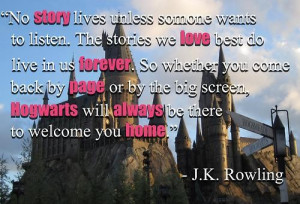 Famous wise quotes sayings love j k rowling