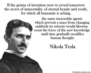 Nikola Tesla Free Energy Quotes