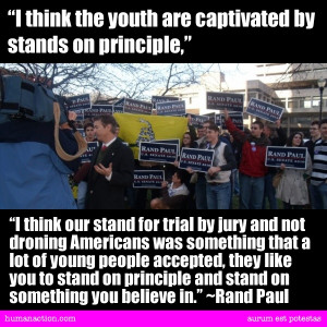 Rand Paul quote.