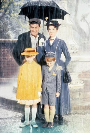 BERT, MARY, JANE & MICHAEL ~ Mary Poppins, 1964....I Dream of ...