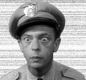 Barney Fife - Don Knotts Famous Barney Fife quotes: http://www.imdb ...