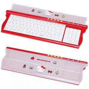 hello kitty keyboard boasts keys cute and cuddliness