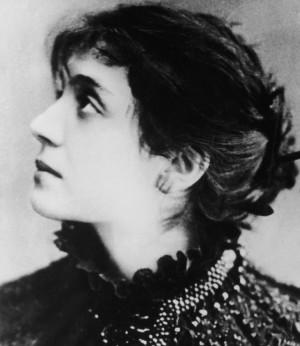 """... nahmen an den Liaisons der """"femme fragile"""" Eleonora Duse teil"""
