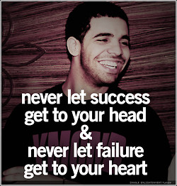 Inspirational Drake: Because Getting A Forehead Tattoo Is Too Much