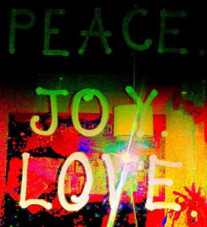 Peace, Joy, Love Holiday Inspiration