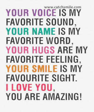 I Love You Voice Quotes : Your-Voice-is-My-Favorite-Sound-your-Name-is-My-Favourite-Word-Your ...