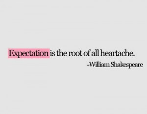 quotes,expectation,heartache,quote,shakespeare,text ...