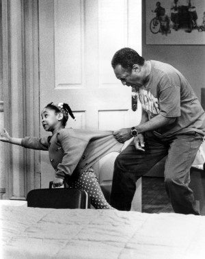 The Cosby Show - Raven-Symone And Bill Cosby