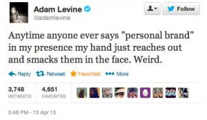 Adam Levine quote about